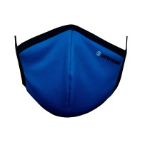 Ultra-Soft Pack 3 (BLUE) Triple Filtered Branded Unisex Fashion Fabric Face Masks