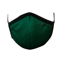 Ultra-Soft Pack 3 (GREEN) Triple Filtered Branded Unisex Fashion Fabric Face Masks