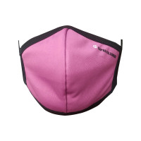 Ultra-Soft Pack 3 (BRIGHT PINK) Triple Filtered Branded Unisex Fashion Fabric Face Masks
