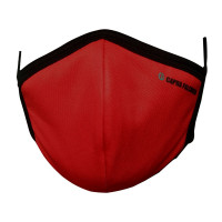 Ultra-Soft Pack 3 (RED) Triple Filtered Branded Unisex Fashion Fabric Face Masks