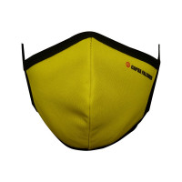 Ultra-Soft Pack 3 (YELLOW) Triple Filtered Branded Unisex Fashion Fabric Face Masks